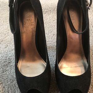 Bakers new peep toe heels